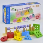 Деревянная игрушка Геометрика С 36013