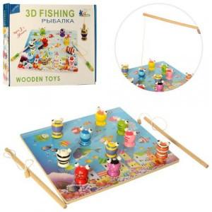 Деревянная игрушка Рыбалка MD 2408