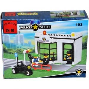 Конструктор BRICK Полицейский пост 103