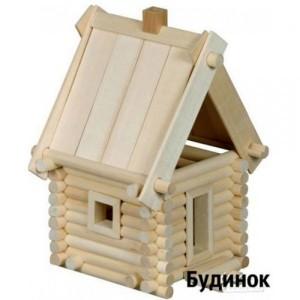 Деревянный эко-конструктор Избушка