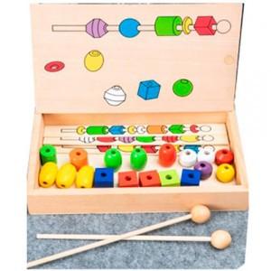 Деревянная игрушка Шнуровка MD 2585
