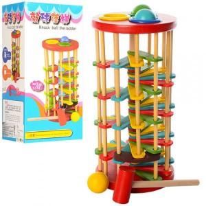 Деревянная игрушка Стучалка QZM-0205