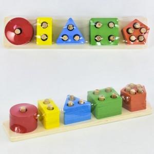 Деревянная игрушка Геометрика C 30318