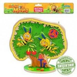 Деревянная игрушка шнуровка Пчелка Майя GT 6294