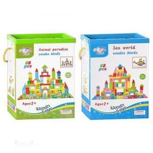 Деревянная игрушка Городок MD 0657