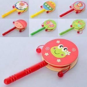 Деревянная игрушка Погремушка MD 2301