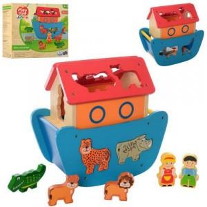 Деревянная игрушка Сортер MD 2489