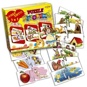 PUZZLE Игротека 3в1 МКБ0117