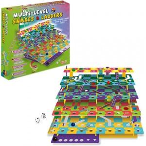 Настольная игра Multi-Level Snakes & Ladders 88120