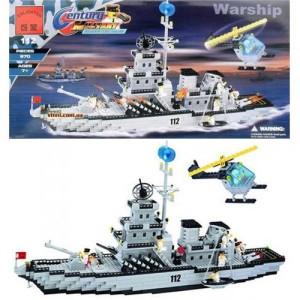 Конструктор BRICK Военный корабль 112