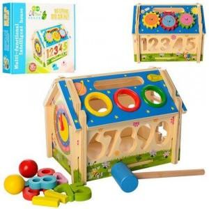 Деревянная игрушка Домик M01454