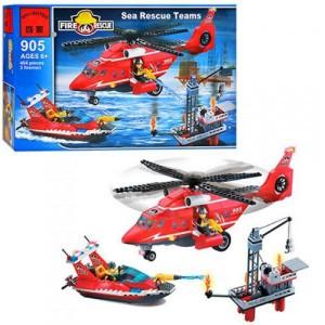 Конструктор BRICK Морская спасательная команда 905