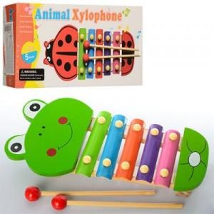 Деревянная игрушка Ксилофон E12585