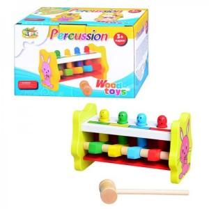 Деревянная игрушка Стучалка MD 0326