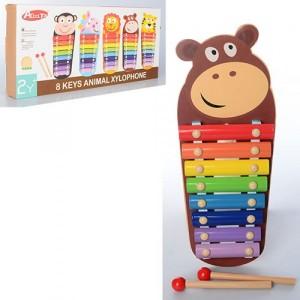Деревянная игрушка Ксилофон MD 1134