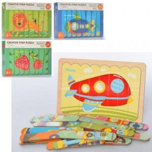 Деревянная игрушка Пазлы MD 2552