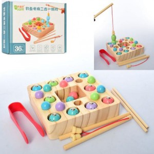 Деревянная игрушка Рыбалка MD 2214