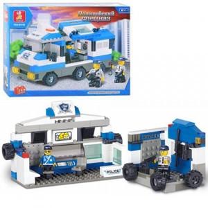 Конструктор SLUBAN Полиция M38-B0188