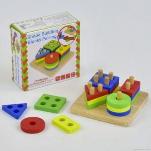 Деревянная игрушка Логика С 29390