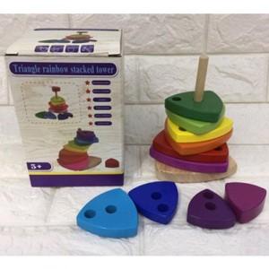 Деревянная игрушка Пирамидка MD 2719