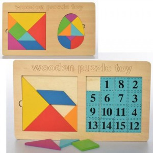 Деревянная игрушка Геометрика MD 2747