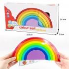 Деревянная игрушка Color Sort Rainbow