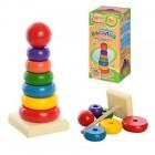 Деревянная игрушка Пирамидка 36108