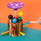 Деревянная игрушка Грибы/шарики