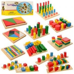 Деревянная игрушка Геометрика MD 2404