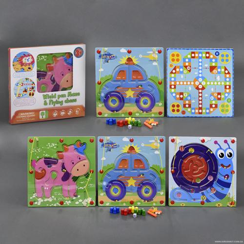 Деревянная игра Лабиринт С 23013