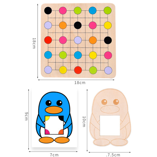 Penguins Look For Color IQ Game Johor Bahru 2305-88