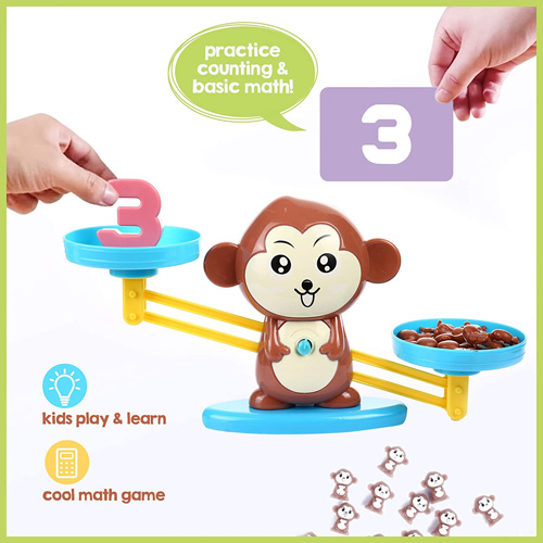 Настольная игра Балансирующая обезьяна