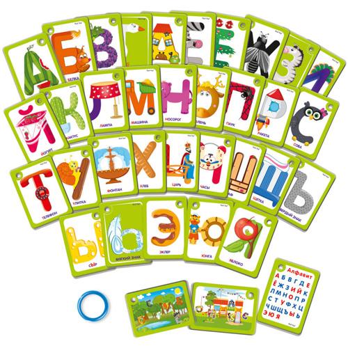 Алфавит на кольце VT5000-01