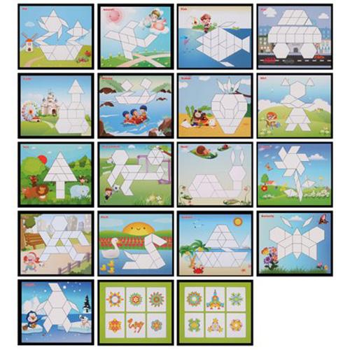 Деревянная игрушка Puzzle Block 250 деталей 2305-53
