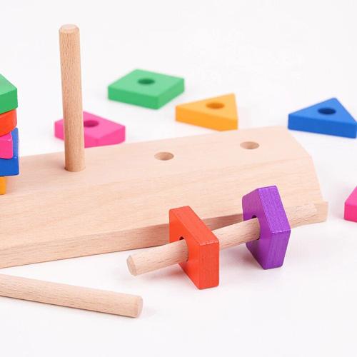 Деревянная игрушка Block Matching Puzzle Game