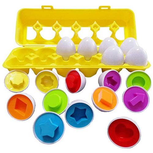 Игра головоломка Matching Eggs Фигуры