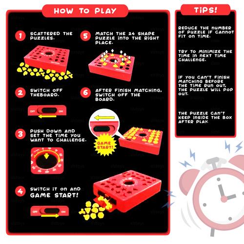 Настольная игра Time Puzzle JS1733
