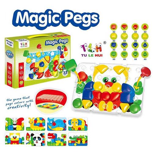 Мозаика Magic Pegs TLH-26-27