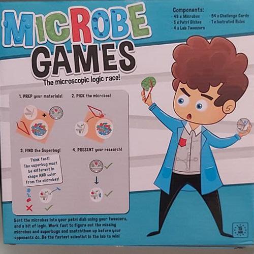 Настольная игра Dr. microbe gams