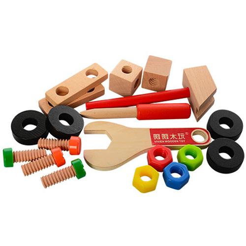 Деревянная игрушка Конструктор MD 1172