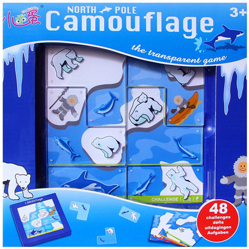 Настольная игра Camouflage North Pole