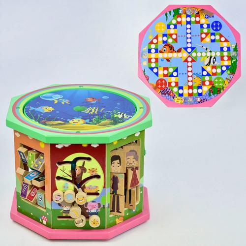 Деревянный Логический куб C 31539