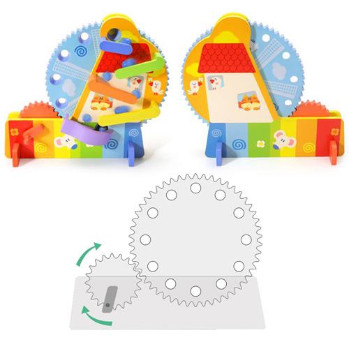 Деревянная игрушка Ball Ferris Wheel 2305-50
