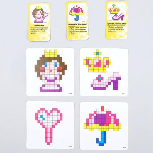 Аквамозаика Принцесса 480 деталей 55014