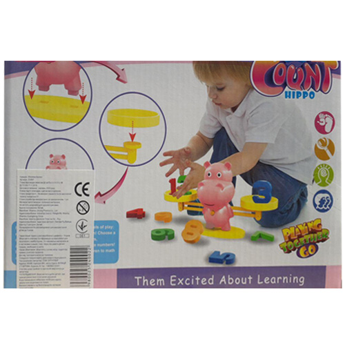 Настольная игра Learning Count Hippo ZG897