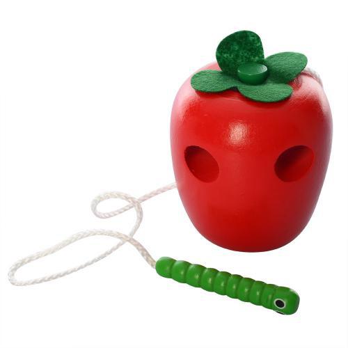 Деревянная игрушка Шнуровка MD 0494-1