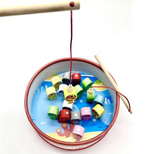 Деревянная игрушка Магнитная рыбалка 1902-6