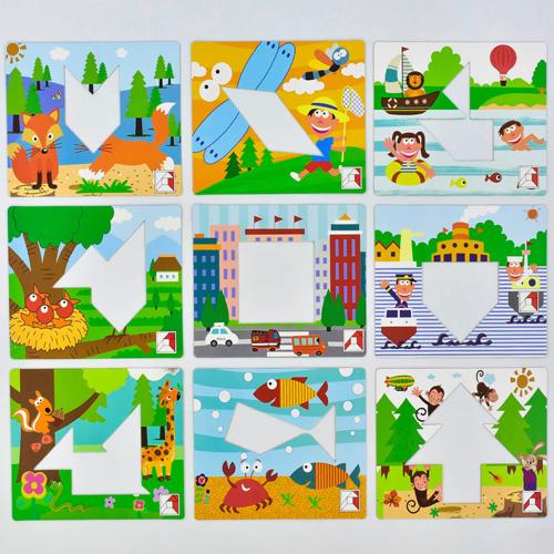 Деревянная игра Пазл-головоломка C 31438
