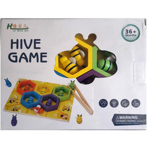 Деревянная игрушка Разложи пчёлок