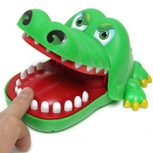 Настольная игра Mini attack crocodile M-2